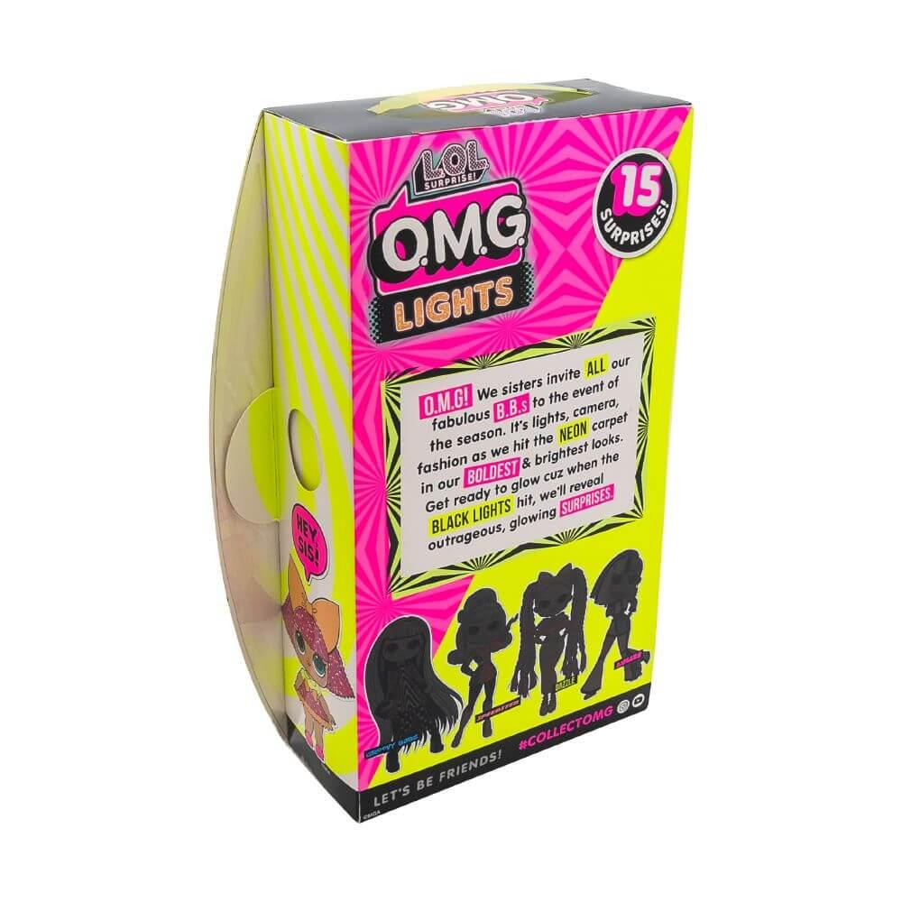 Большая кукла LOL Surprise OMG Lights Dazzle Fashion Doll с 15 сюрпризами - 3