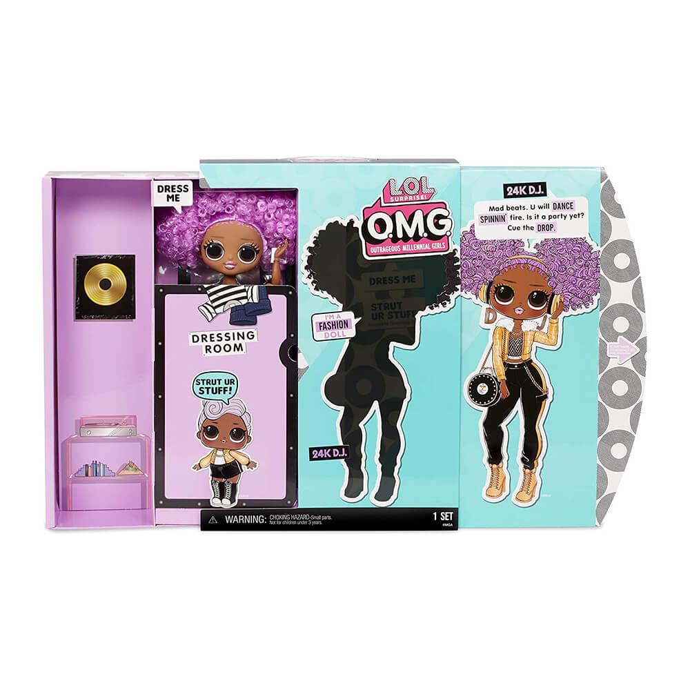 Большая кукла LOL OMG2 Winter Disco 24K D.J. с 20 сюрпризами - 2